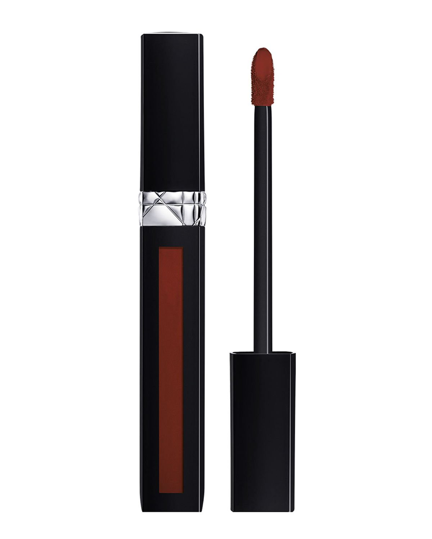 Dior Rouge Liquid Lipstick, Dressed To Matte