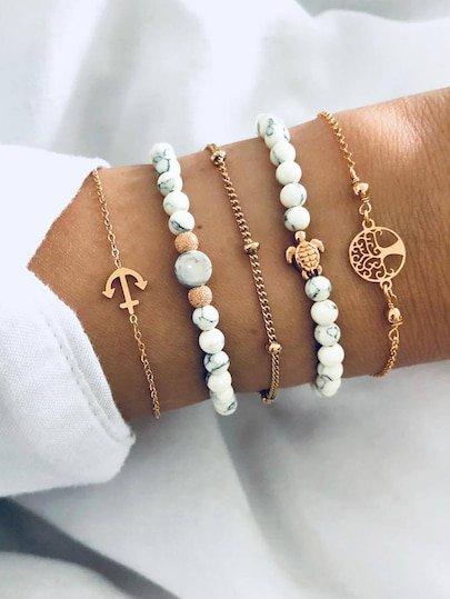 Bracelets   Bracelets Sale Online   ROMWE