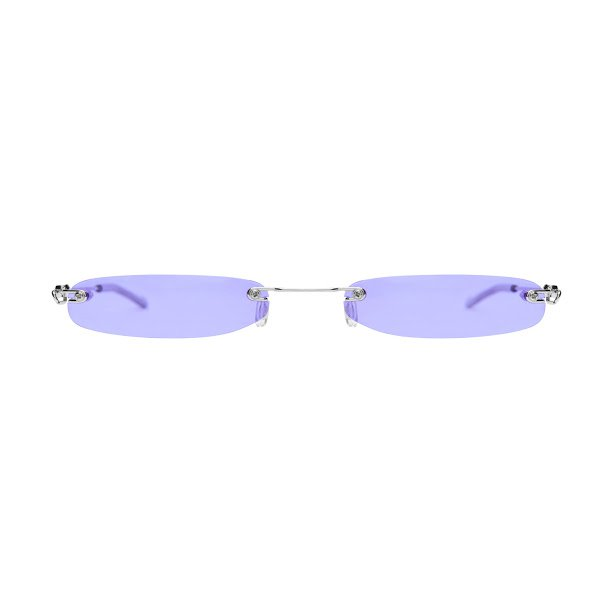 Christinah Jones Purple Lens Sunglasses