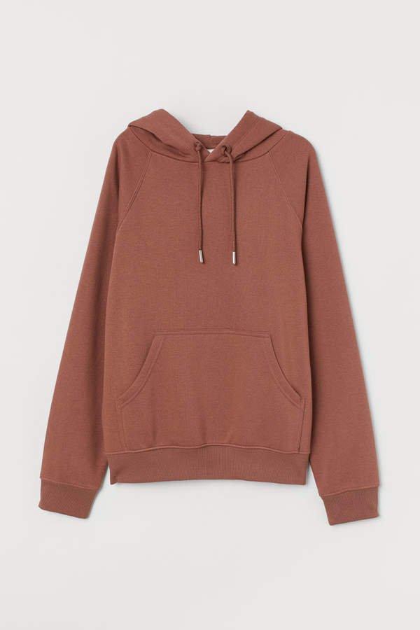 Hooded Sweatshirt - Orange