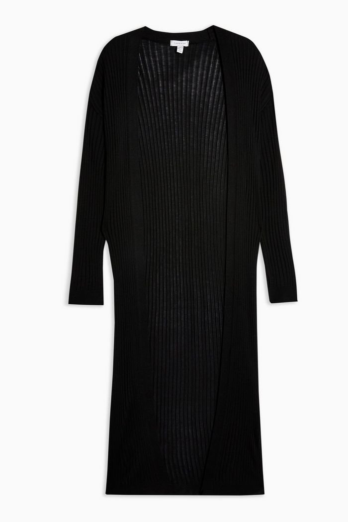 Knitted Longline Cardigan | Topshop