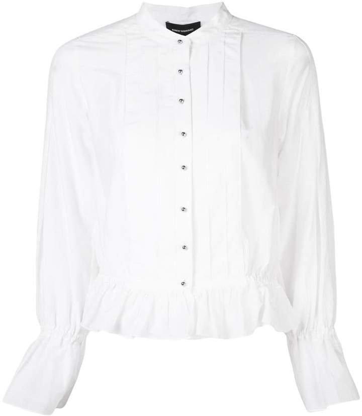 Studio Gypsy pleated shirt
