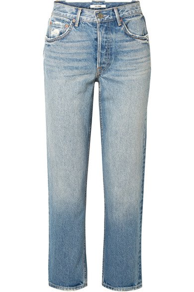 GRLFRND | Helena high-rise straight-leg jeans | NET-A-PORTER.COM