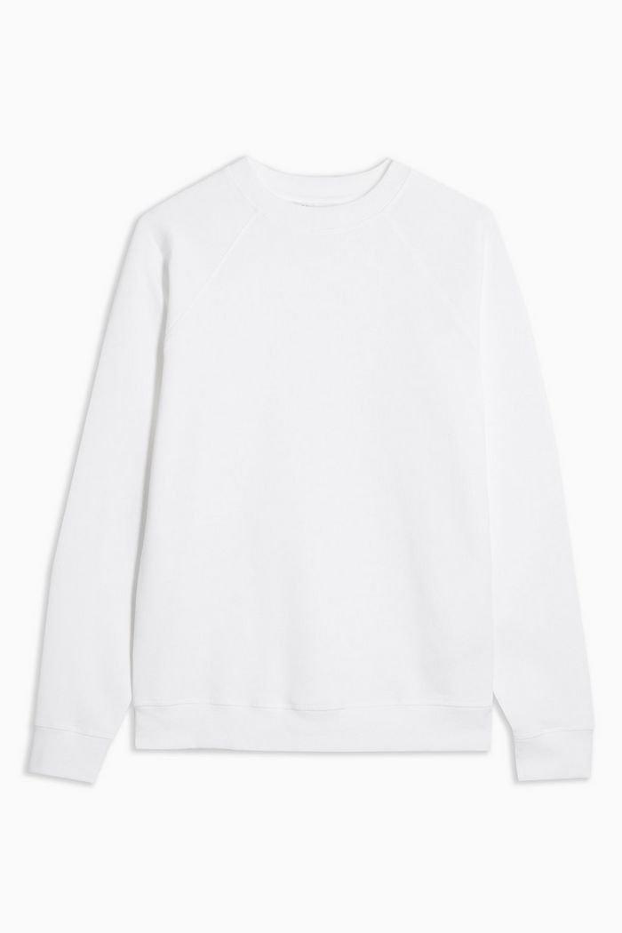 White Everyday Sweatshirt | Topshop white