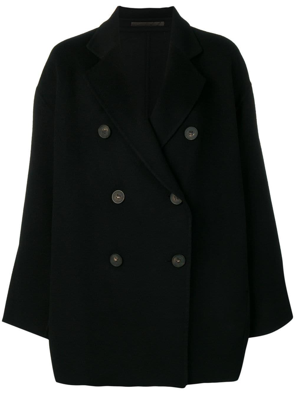 Black Acne Studios A-Line Jacket | Farfetch.com
