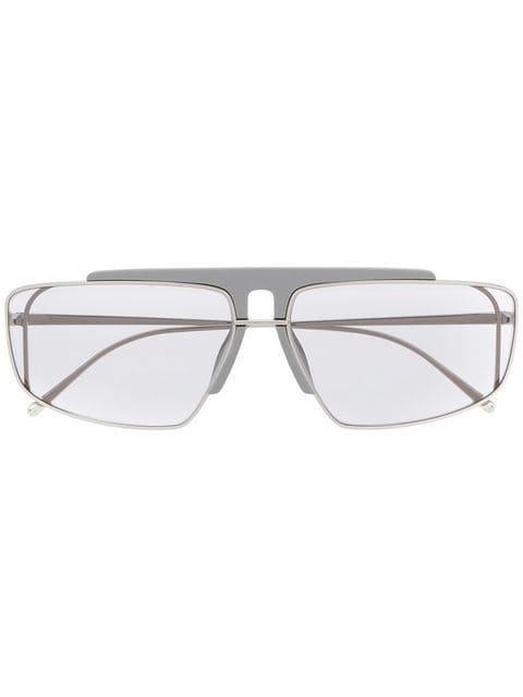 Prada Eyewear square frame sunglasses