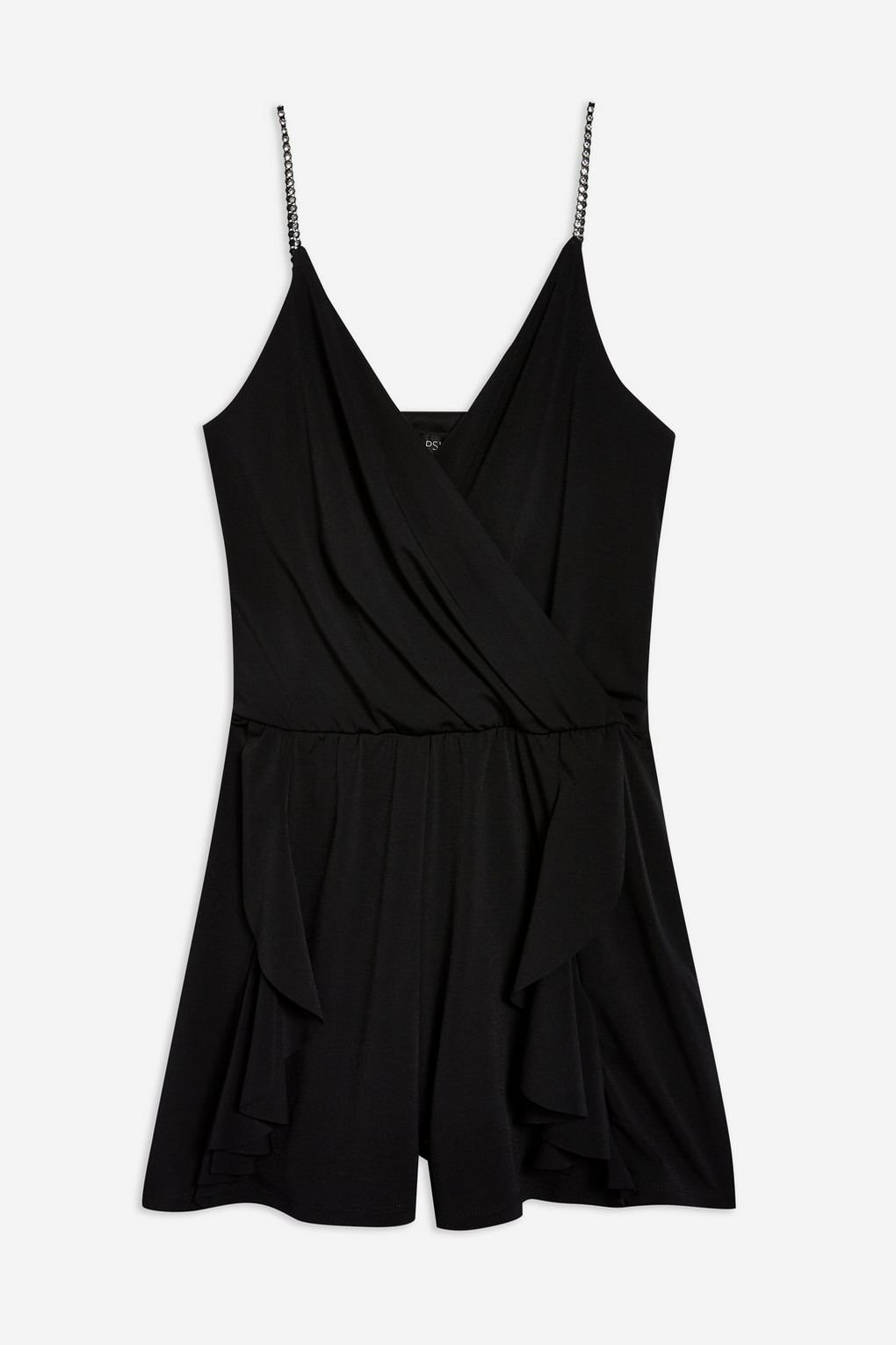 Crystal Strap Playsuit - Playsuits & Jumpsuits - Clothing - Topshop