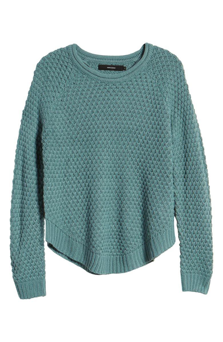 VERO MODA Esme Surf Roll-Neck Sweater blue
