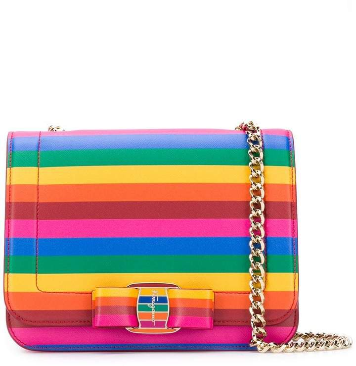 'Vara' Rainbow crossbody bag
