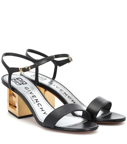 Triangle Leather sandals