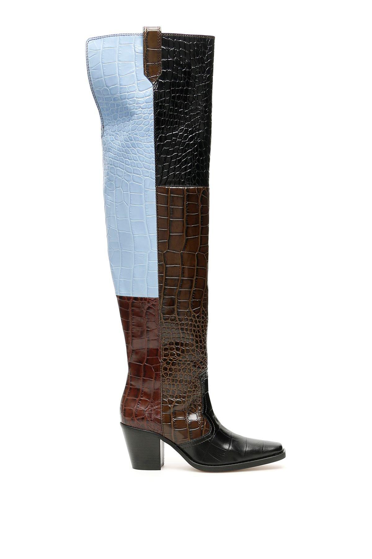 Ganni Thigh-high Boots