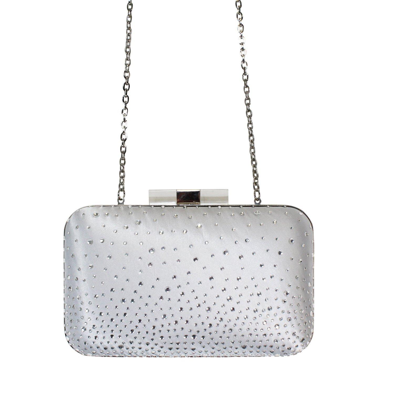 Scheilan Sparkle Silver Clutch | Muse Boutique Outlet – Muse Outlet