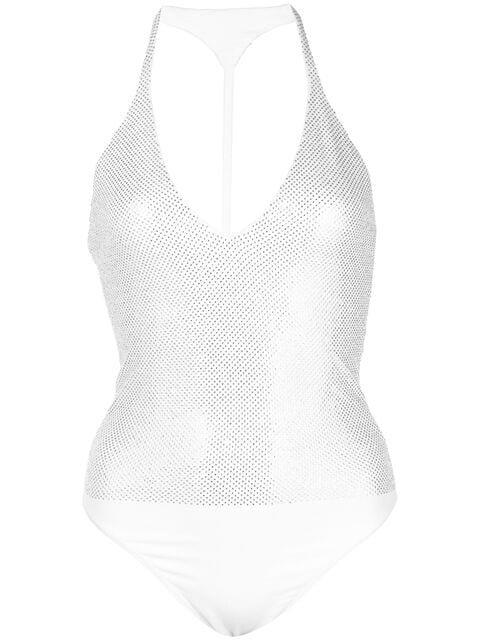 Alexandre Vauthier crystal-embellished bodysuit