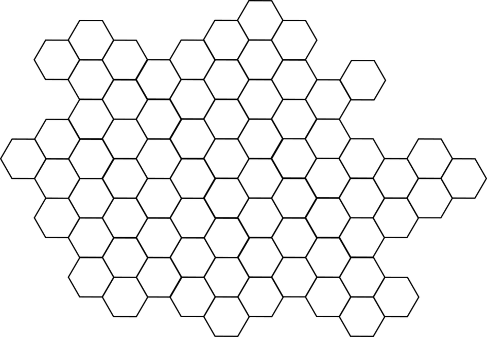 Hexagon Pattern Bee - Free vector graphic on Pixabay