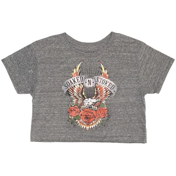 Billabong Women's Soaked And Stoked Cut-Off Tee