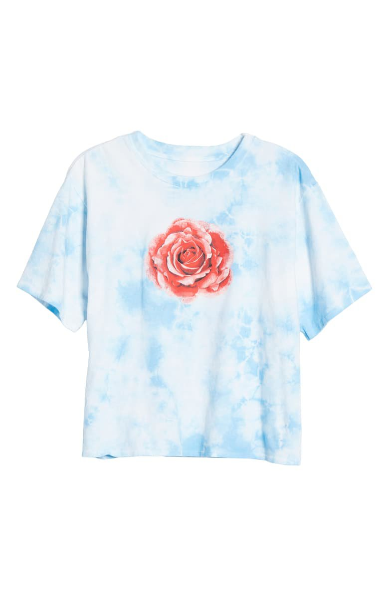 BP. x Claudia Sulewski Relaxed Graphic Tee blue