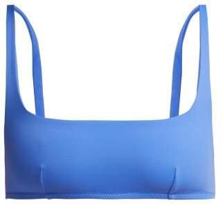 Quinn Bikini Top - Womens - Blue