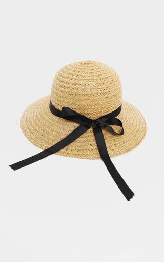 Natural Straw Sun Hat | PrettyLittleThing