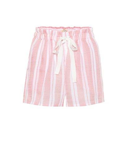 Doro cotton-blend shorts