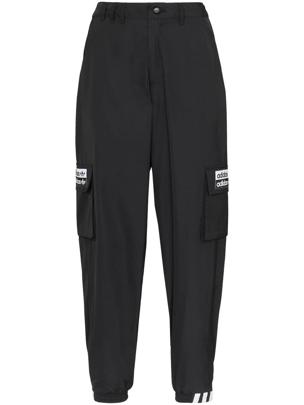 Black Adidas Originals Utility Trousers   Farfetch.com