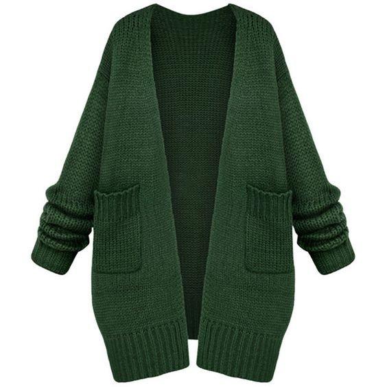 Women Casual Long Sleeve Cardigan