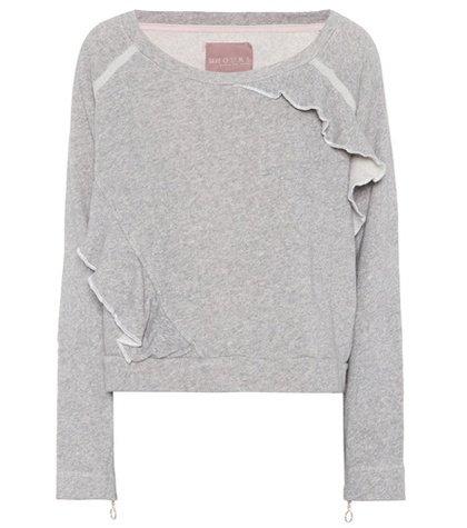 Aki cotton jersey sweater