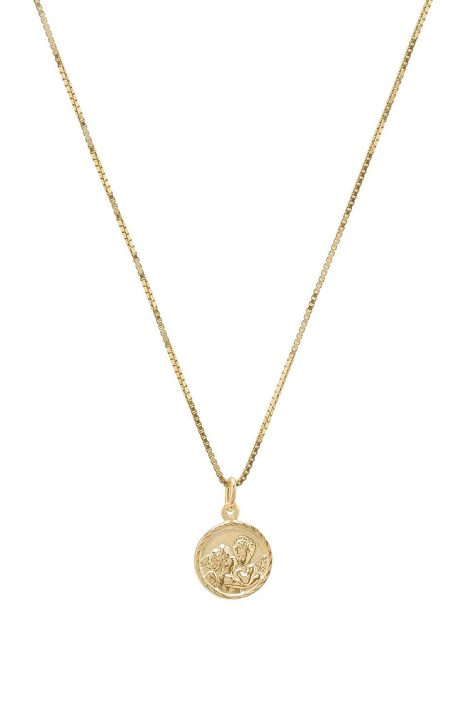 Tiny Angel Pendant Necklace