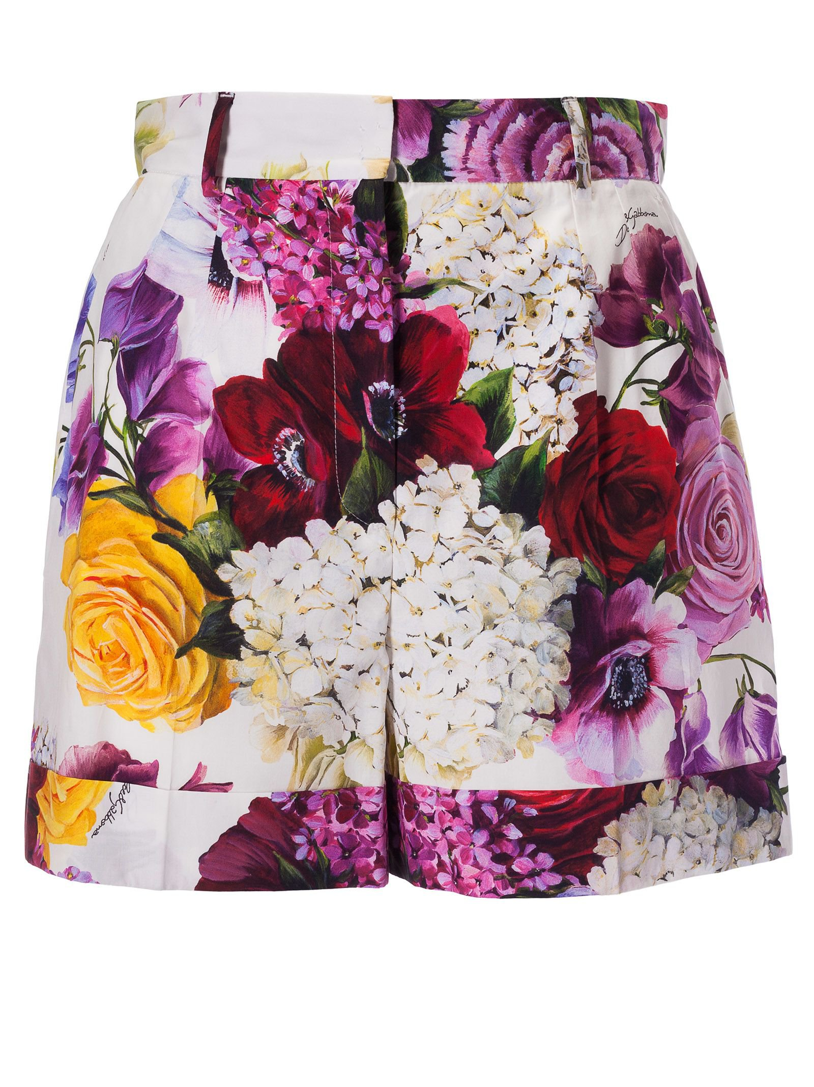 Dolce & Gabbana Floral Shorts