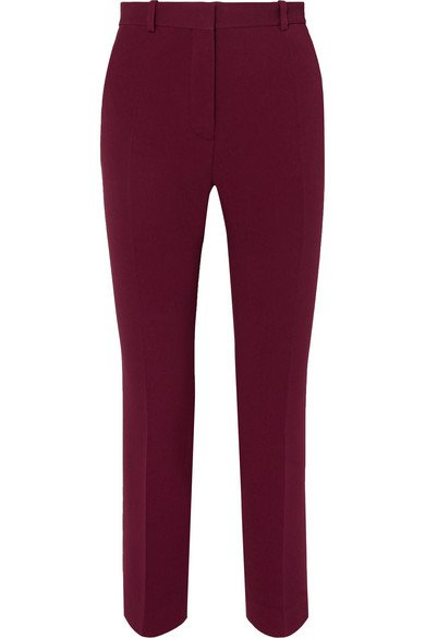 Joseph | Zoom tapered stretch-crepe pants | NET-A-PORTER.COM
