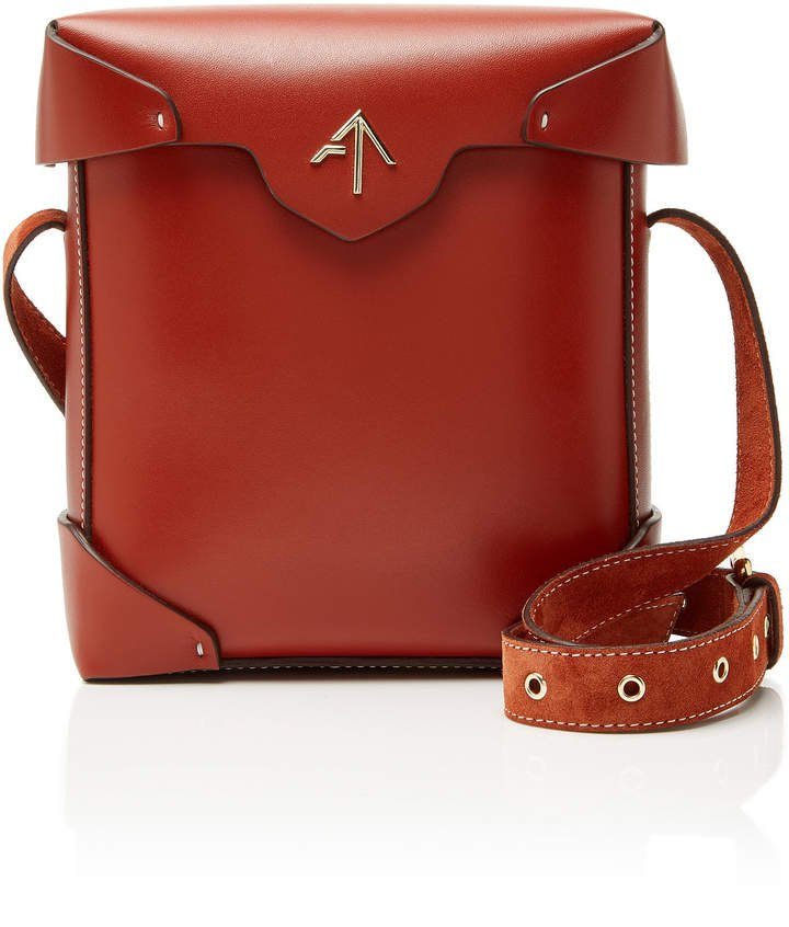 Manu Pristine Mini Leather Shoulder Bag