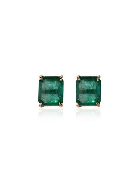 Shay emerald stud earrings $5,598 - Buy AW18 Online - Fast Global Delivery, Price
