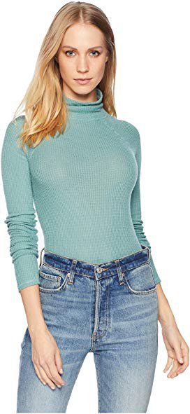 Free People Like I Do Turtleneck Top at Zappos.com
