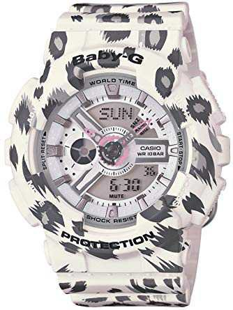 Baby-G: White Leopard Watch