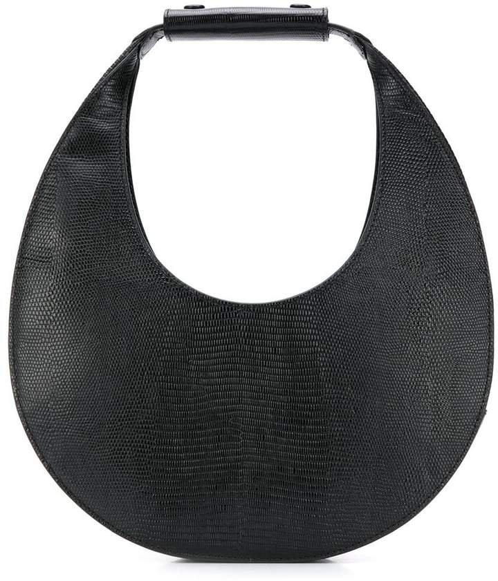 moon-shaped tote bag