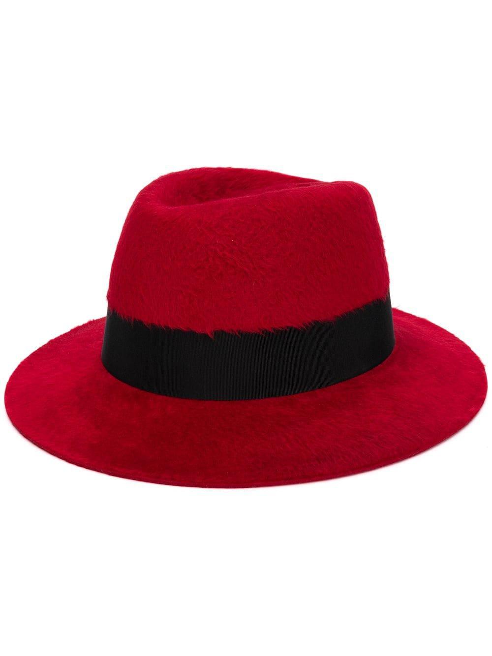 Saint Laurent Felt Fedora Hat | Farfetch.com