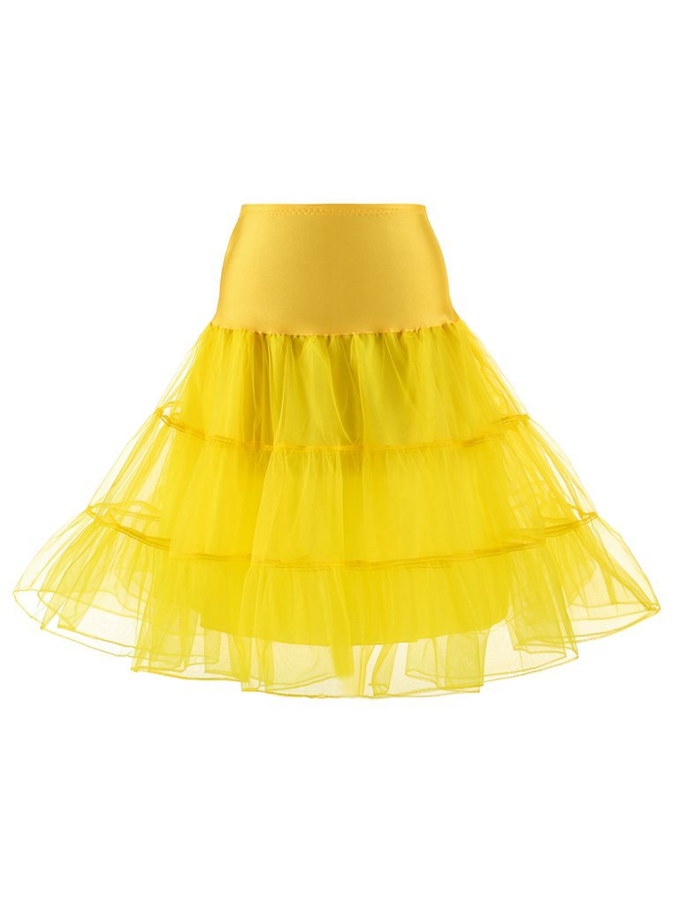 50s Retro Boneless Skirt Ballet Skirt Petticoat – MissFoxFashion