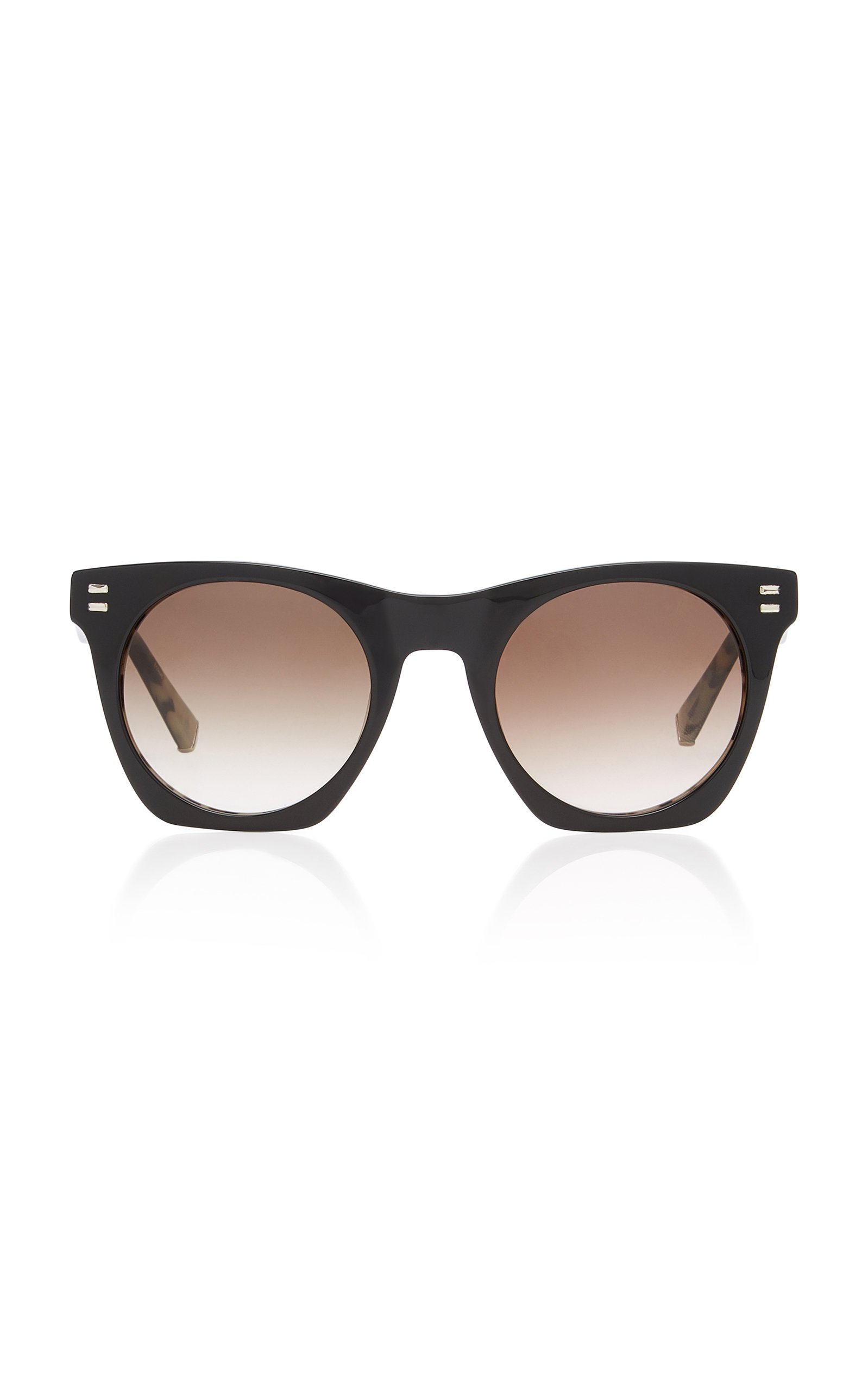 Kate Young Aylin Square-Frame Acetate Sunglasses