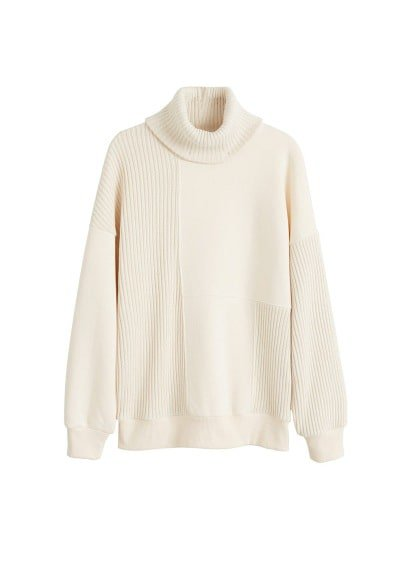 MANGO Turtleneck sweatshirt