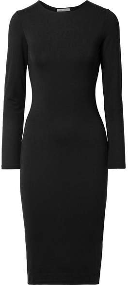 Ninety Percent - Stretch-jersey Dress - Black