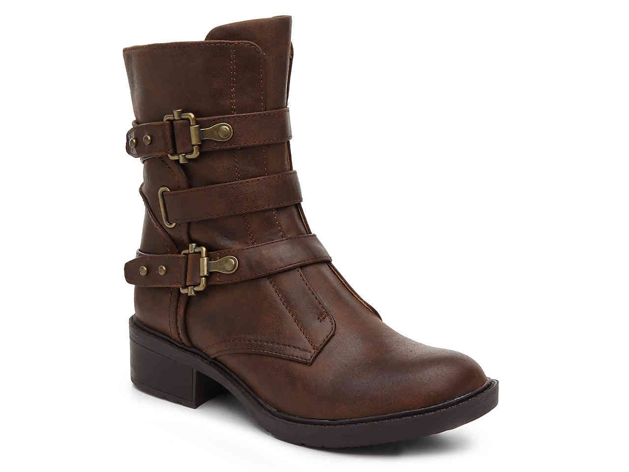 Bare Traps Thomas Motorcycle Bootie Women's Shoes | DSW