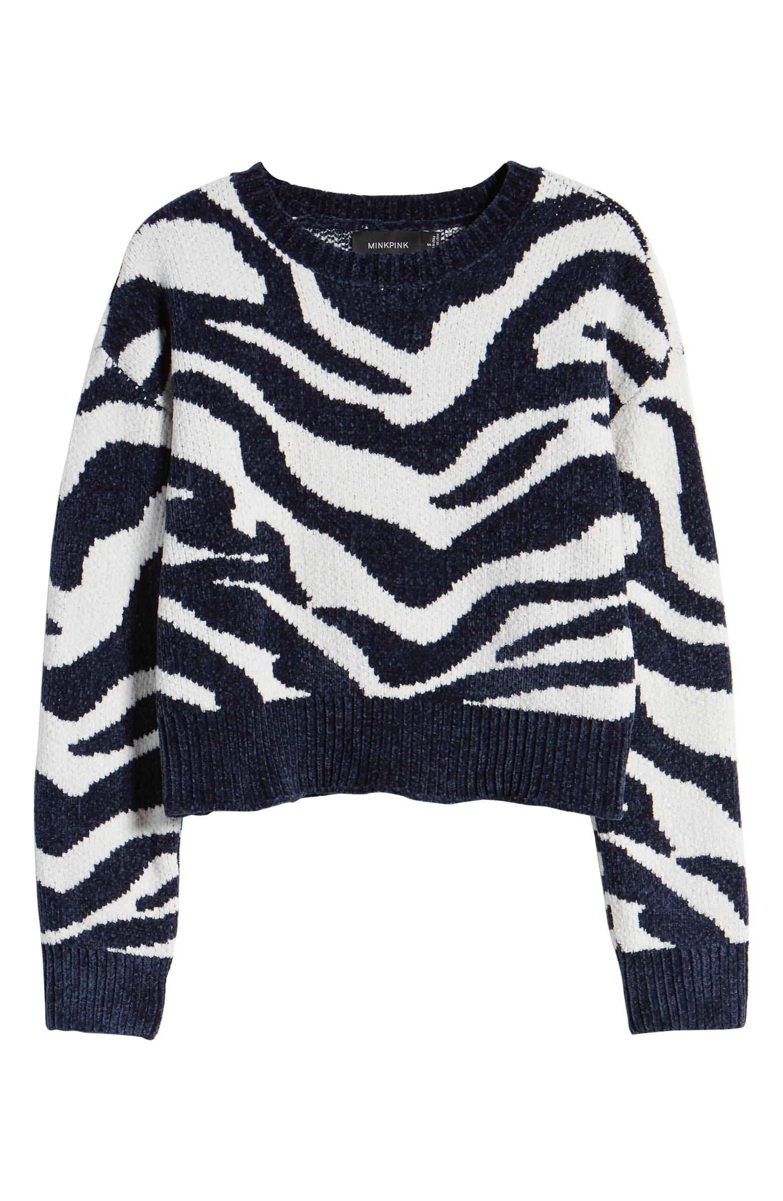 MINKPINK A Wild Winter Chenille Sweater   Nordstrom