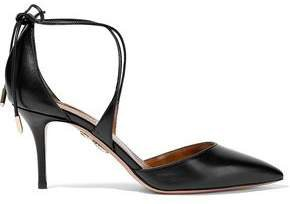 Matlide Leather Pumps