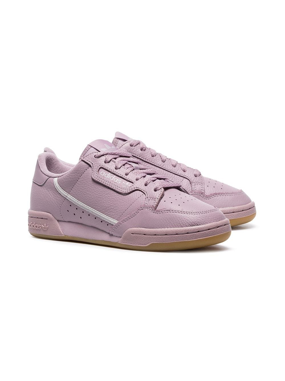 Adidas Light Purple Continental 80s Leather Sneakers - Farfetch