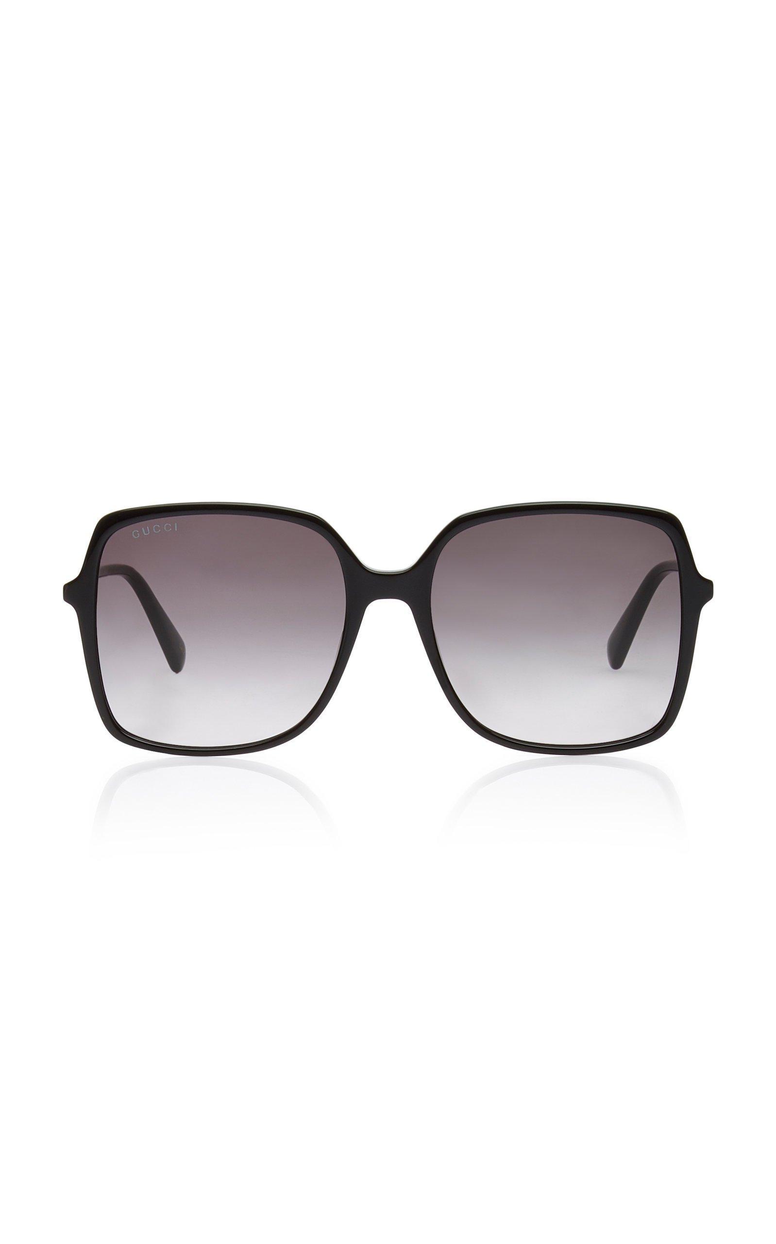 Gucci Ultralight Acetate Square-Frame Sunglasses
