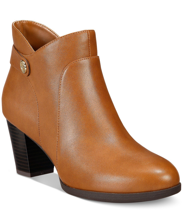 Giani Bernini Abalina Memory Foam Booties, Created for Macy's & Reviews - Boots - Shoes - Macy's