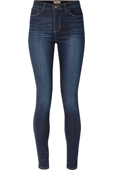 L'Agence | Marguerite high-rise skinny jeans | NET-A-PORTER.COM