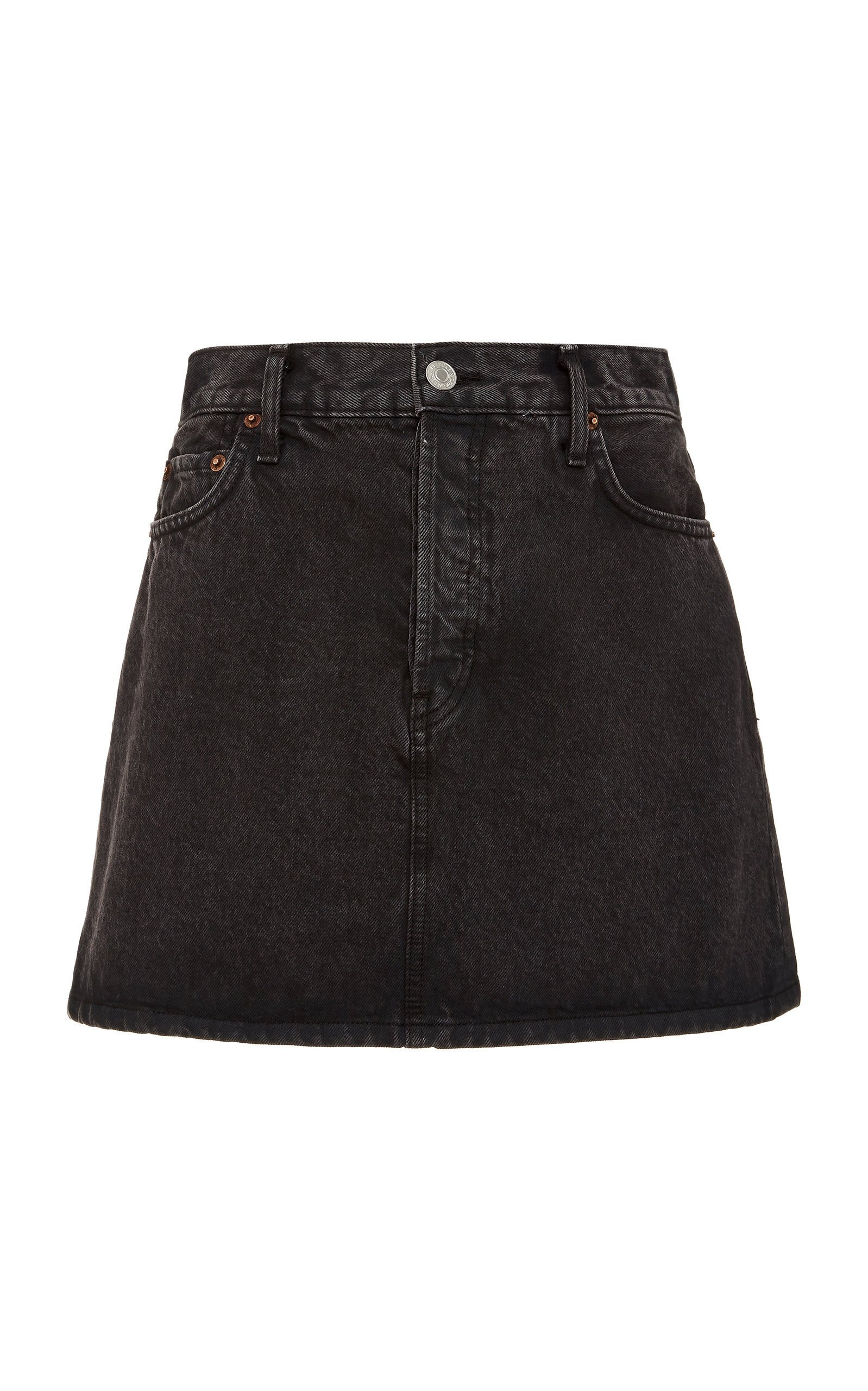 Re/done '60's Denim Mini Skirt