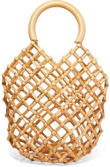 Emmi Bamboo Tote - Beige