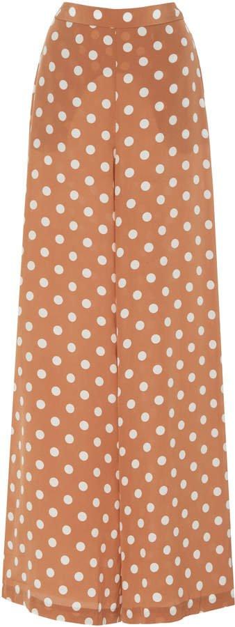 Zimmermann Silk Wide Leg Pant Size: 1