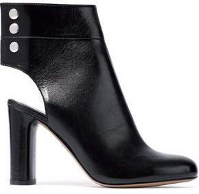 Matyi Cutout Leather Ankle Boots